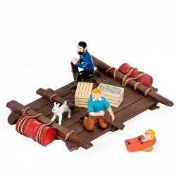 Pixi Moulinsart Tintin - 3ème série - Radeau Coke en stock