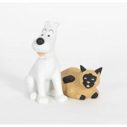 Leblon Moulinsart Tintin - Milou et le chat siamois