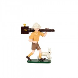 Pixi Moulinsart Tintin - 2ème série - Tintin en explorateur avec Milou