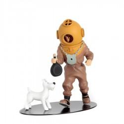 Leblon Moulinsart Tintin - Tintin scaphandrier (Coll. Nostalgie)