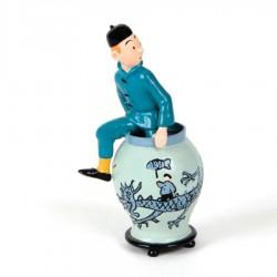 Pixi Moulinsart Tintin - 3ème série - Tintin sortant de la potiche