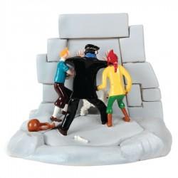 Pixi Moulinsart Tintin - 2ème série - La Porte du Temple du Soleil