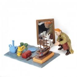 Pixi Moulinsart Tintin - Collection Classique - Tintin et Milou Marché aux puces