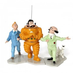 Pixi Moulinsart Tintin - Puzzle Objectif (Lune) complet