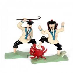 Pixi Moulinsart Tintin - 2ème série - Dupont et Dupond au crabe