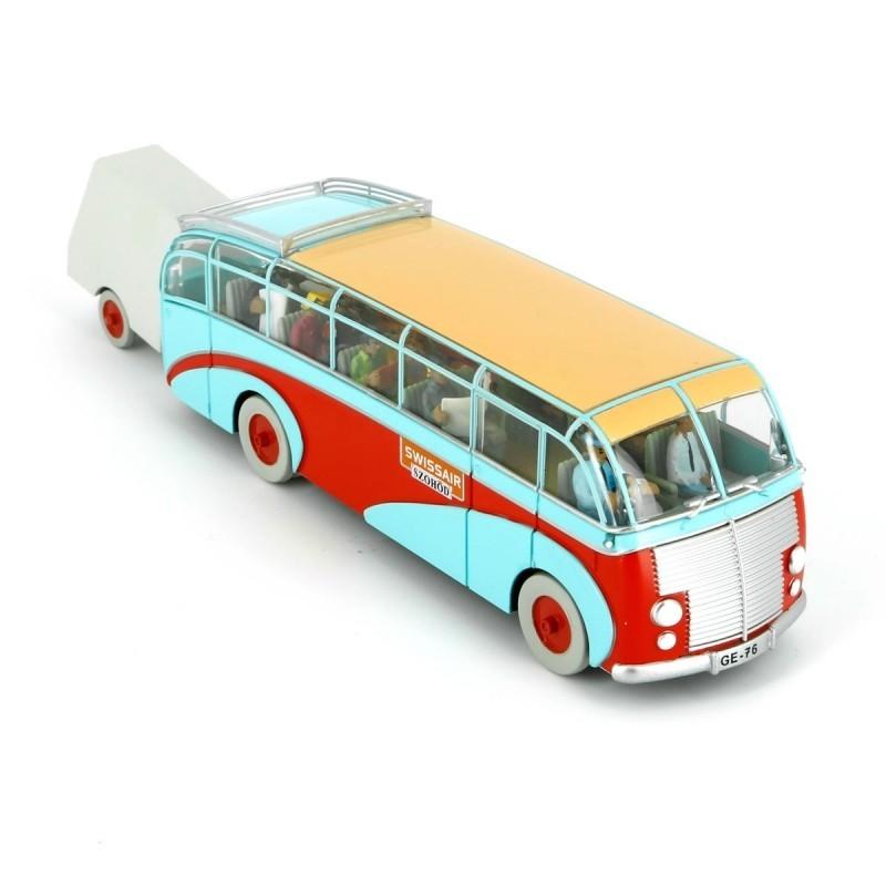 Véhicule Moulinsart Tintin - Bus Swissair