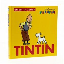 Livre Moulinsart Tintin - Images en action : je découvre les couleurs