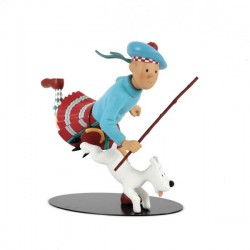 Leblon Moulinsart Tintin - Tintin écossais 32 cm