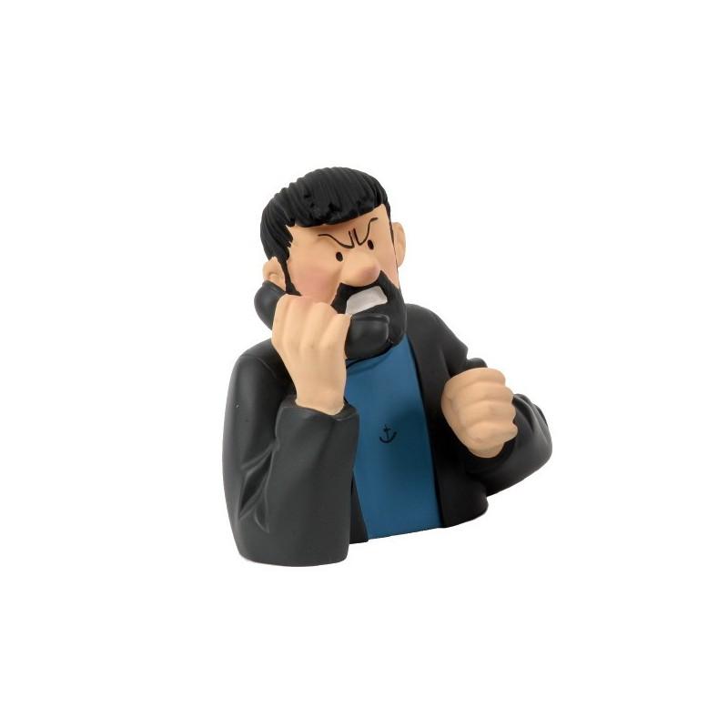 Leblon Moulinsart Tintin - Buste Haddock téléphone