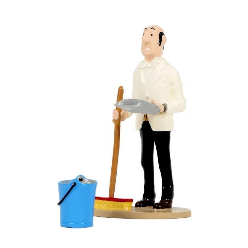 Pixi Moulinsart Tintin - Collection Générique - Nestor balai
