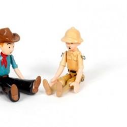 Pixi Moulinsart Tintin - Articulée - Tintin au Congo