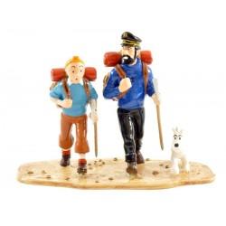 Pixi Moulinsart Tintin - Collection Classique - Tintin et Haddock au Tibet