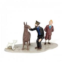 Pixi Moulinsart Tintin - 3ème série - Haddock, Tintin, Milou et le lama