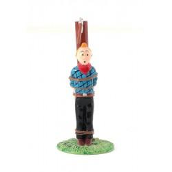 Pixi Moulinsart Tintin - Collection Classique - Tintin poteau hache
