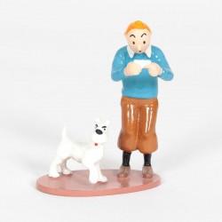 Pixi Moulinsart Tintin - Collection Générique - Tintin et Milou Carte visite Rackham