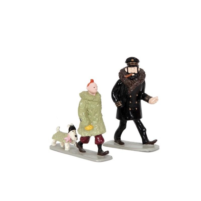 Pixi Moulinsart Tintin - 2ème série - Tintin, Milou et Haddock