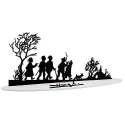 Figurine Moulinsart Tintin - Sculpture Meilleurs Voeux