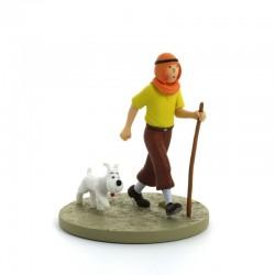 Figurine Moulinsart Tintin - Diorama Tintin oriental