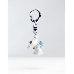 Figurine Moulinsart Tintin - Buste Porte-clés PVC Milou