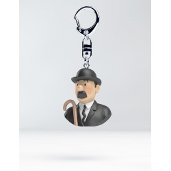 Figurine Moulinsart Tintin - Buste Porte-clés PVC Dupond