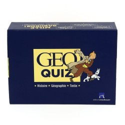 Jeu Moulinsart Tintin - Géo Quizz