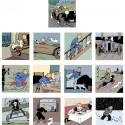 Papeterie Moulinsart Tintin - Calendrier 2018 Petit Format