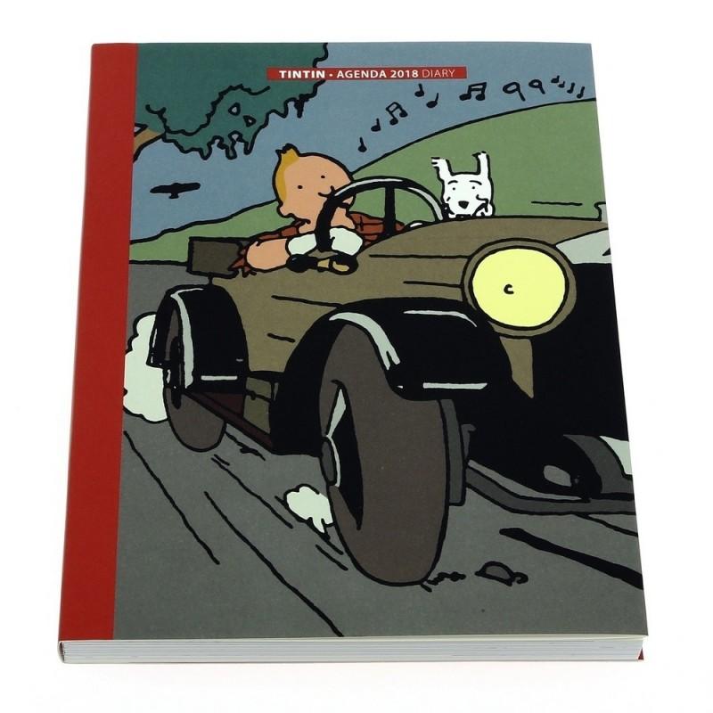 Papeterie Moulinsart Tintin - Agenda de bureau 2018