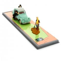 Voiture Moulinsart Tintin - 2 CV des Dupondts