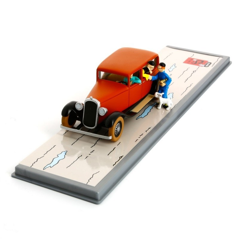 Voiture Moulinsart Tintin - Voiture de Wang Jen Ghié (Coll. Transport)