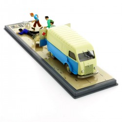 Voiture Moulinsart Tintin - Ambulance de la base (Coll. Transport)