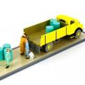 Voiture Moulinsart Tintin - Camion jaune de la base (Coll. Transport)