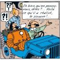 Voiture Moulinsart Tintin - Jeep Bleue CJ2A (Coll. Atlas)