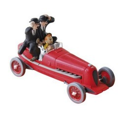 Voiture Moulinsart Tintin - Bolide rouge (Coll. Atlas)