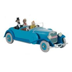 Voiture Moulinsart Tintin - Lincoln Torpedo (Coll. Atlas)