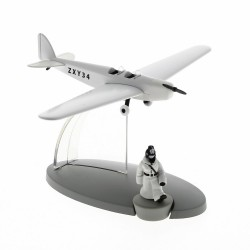 Avion Moulinsart Tintin - Fig 47 Avion police berlinoise soviet + Tintin