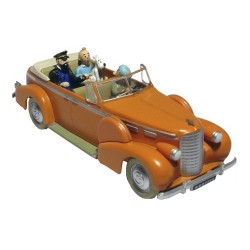 Voiture Moulinsart Tintin - Taxi New Delhi (Coll. Atlas)
