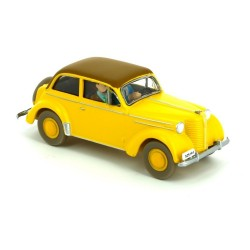 Voiture Moulinsart Tintin - Opel Olympia cabrio (Coll. Atlas)