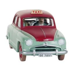 Voiture Moulinsart Tintin - Taxi Simca (Coll. Atlas)