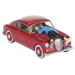 Voiture Moulinsart Tintin - Lancia Aurélia (Coll. Atlas)
