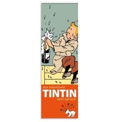 Papeterie Moulinsart Tintin - Calendrier perpétuel des anniversaires