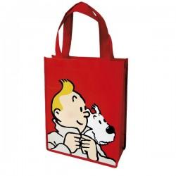 Papeterie Moulinsart Tintin - Sac semi-imperméable rouge PM