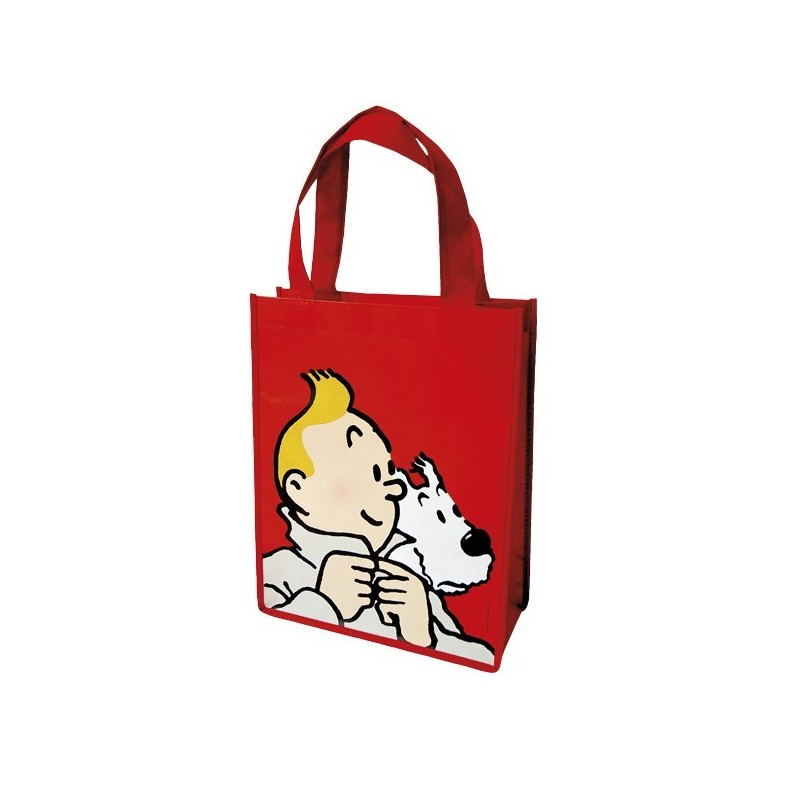 Papeterie Moulinsart Tintin - Sac semi-imperméable rouge PM