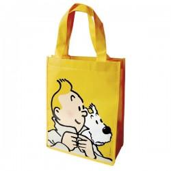 Papeterie Moulinsart Tintin - Sac semi-imperméable jaune PM