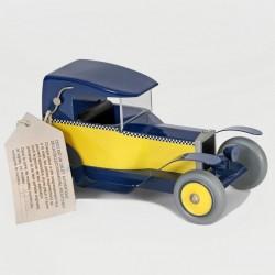 Aroutcheff Franquin Gaston - Taxi Fiat 509 bleu