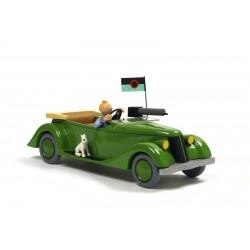 Aroutcheff Moulinsart Tintin - Packard Oreille cassée (Bois)
