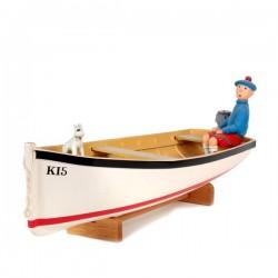 Aroutcheff Moulinsart Tintin - Barque Ile Noire (V2)