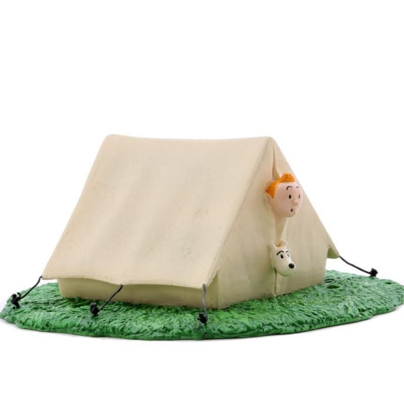 Pixi Moulinsart Tintin - 3ème série - Tintin et Milou dans leur tente