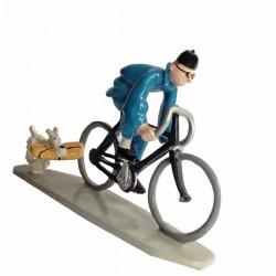 Pixi Moulinsart Tintin - 2ème série - Tintin en vélo et Milou