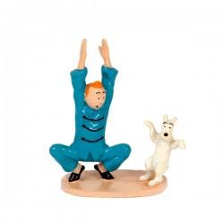 Pixi Moulinsart Tintin - 3ème série - Tintin et Milou gymnastique