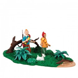 Pixi Moulinsart Tintin - 3ème série - Tintin, Milou et Zorrino dans la jungle